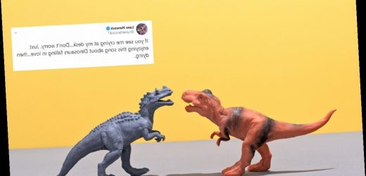 "These Tweets About The ""Dinosaurs In Love"" Song Will Melt Your Heart"