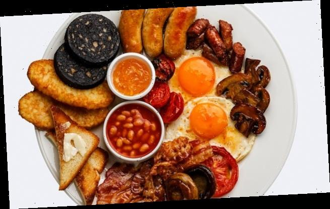 One in five millennials have NEVER tried a Full English breakfast