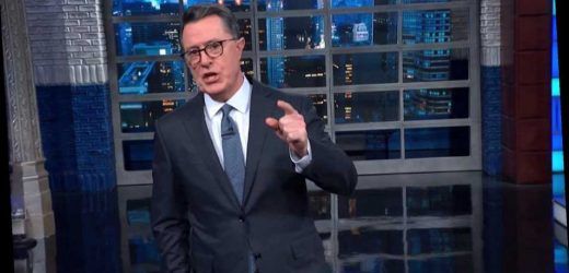 'We're Doomed!' Colbert Shows What Twitter Really Cared About During Impeachment