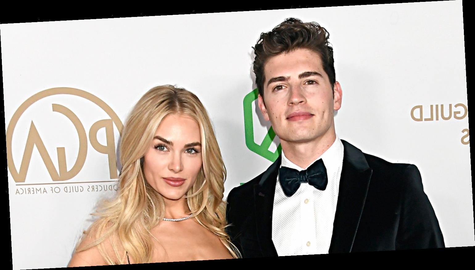Gregg Sulkin & Michelle Randolph Couple Up at Producers Guild Awards 2020