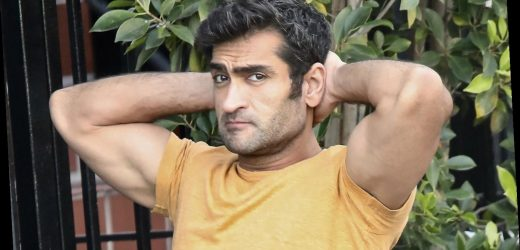 Kumail Nanjiani Puts His Bulging Biceps on Display at Lunch!