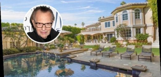 Larry King Sheds Beverly Hills Mansion
