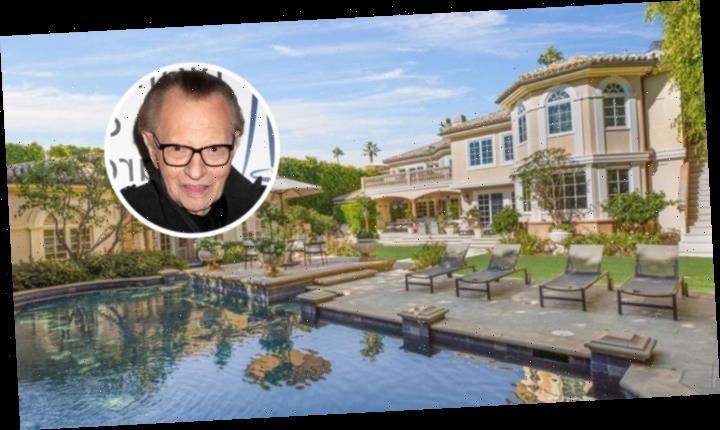 Larry King Sheds Beverly Hills Mansion