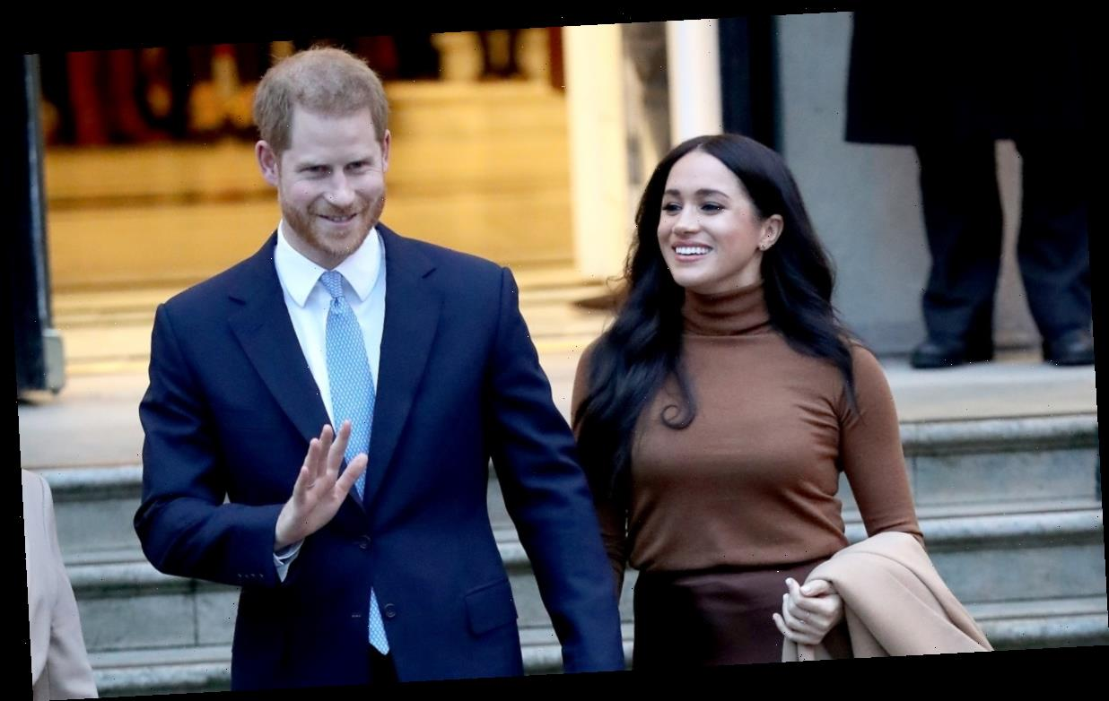 A newly discovered video shows Prince Harry and Meghan Markle discussing the possibility of voiceover work