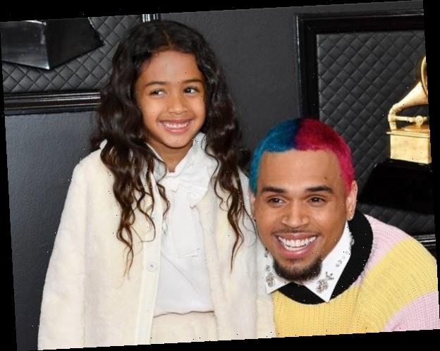 Chris Brown Brings 5-Year-Old Daughter Royalty to the 2020 Grammys