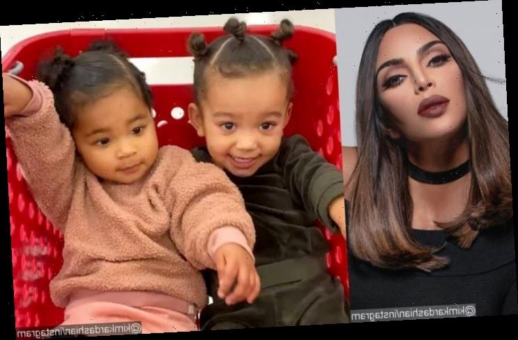 Kim Kardashian's Daughter Chicago Feeds Her Cousin True in Cute Video
