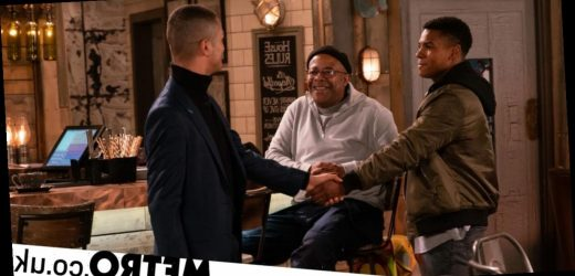 James dates his dad's old mate Danny in Corrie?