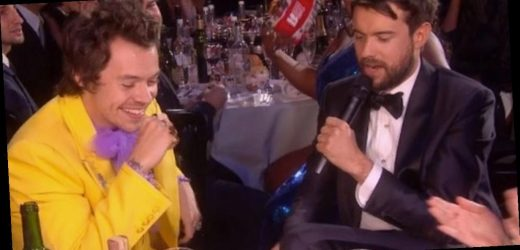Jack Whitehall mistakes Harry Styles' sister for his girlfriend in BRITs blunder