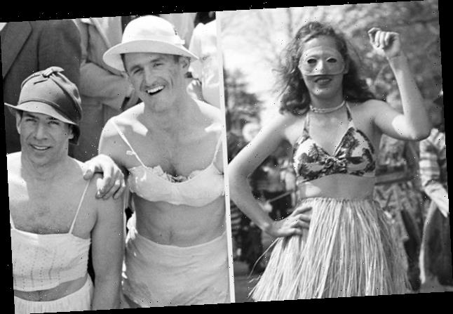 20 Delightfully Shameless Pictures From Mardi Gras History