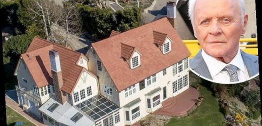Anthony Hopkins puts his incredible $11.5 million Malibu home for sale