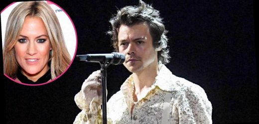 Harry Styles Performs at Brit Awards Days After Ex Caroline Flack's Passing