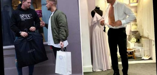 Kieran Hayler spotted trying on wedding suits as ex-wife Katie Price arranges divorce party – The Sun