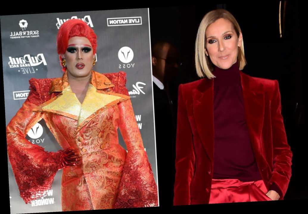 Céline Dion spotlights drag queen Tina Burner at Brooklyn show