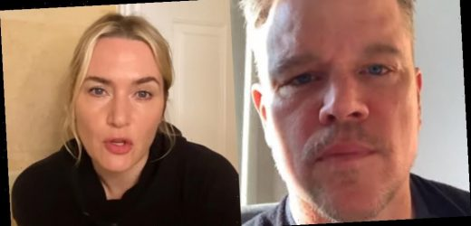 Matt Damon & Kate Winslet Join Cast of 'Contagion' for Pandemic PSAs – Watch (Video)