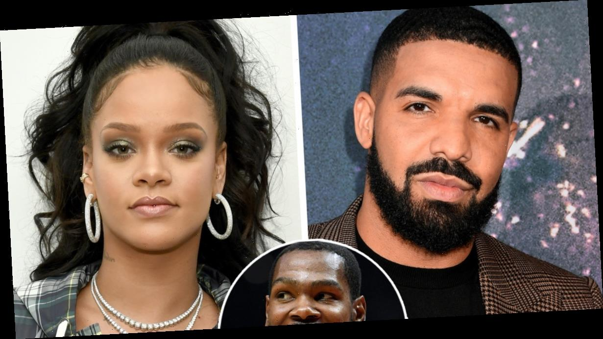 Rihanna Teases Kevin Durant Over COVID-19 Diagnosis…and Drake Can't Help But Get Involved