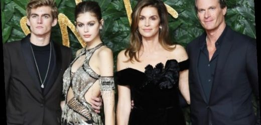Cindy Crawford and Husband Worry Son Presley Seek 'Attention' With Fake Face Tattoo