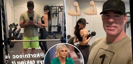 RHOC's Jim Edmonds debuts new girlfriend Kortnie after ex-wife Meghan claims they once had a threesome with her – The Sun