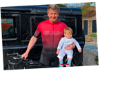 Gordon Ramsay risks angering locals again as he brags about 26-mile bike ride while posing with lookalike baby son – The Sun