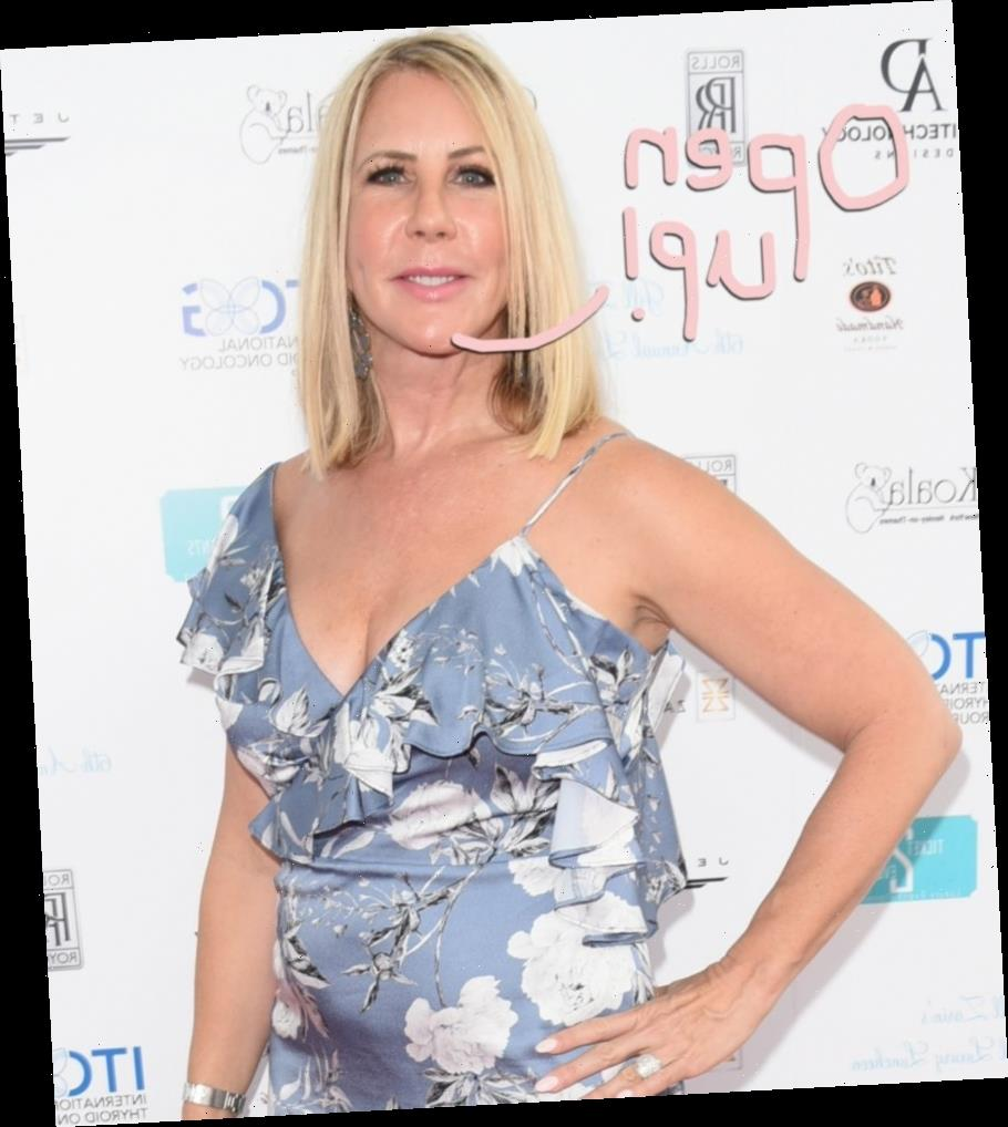 RHOC's Vicki Gunvalson SLAMMED For Suggesting California Get 'Back To Work' By May 1