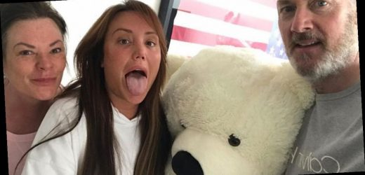 Charlotte Crosby 'breaks lockdown rules again' to celebrate 30th birthday with parents