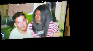 Man Arrested After Grabbing TV Reporter, Yelling Vile Phrase