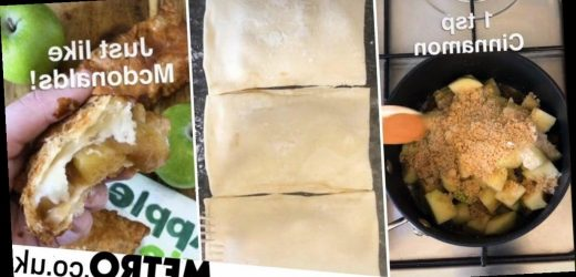 Man reveals recipe to make a McDonald's apple pie at home