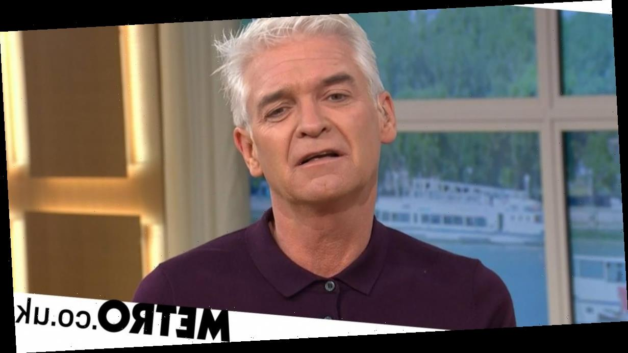 Phillip Schofield says 'talking saved me' after coming out as gay