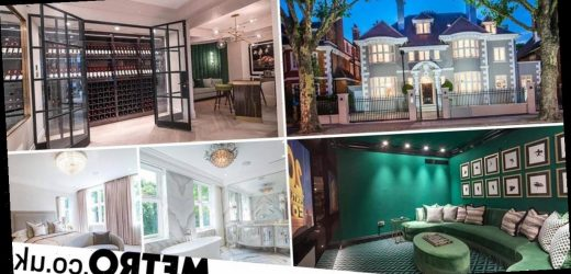 Eight-bedroom home with wine cellar and cinema goes on sale for £28.5million