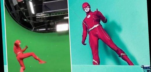 The Flash star Grant Gustin teases 'very cool' season 6 stunt scene fans won't see yet due to coronavirus shutdowns – The Sun