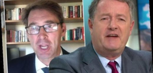 Piers Morgan and Tory MP clash in furious GMB row after shock claim: 'You bumped me!'