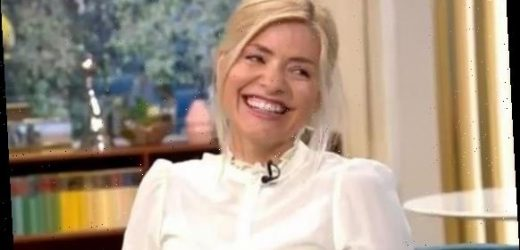 Holly Willoughby gets the giggles after saying she 'likes a cock-a-chon' on This Morning – The Sun