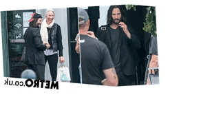 Keanu Reeves loved-up with girlfriend Alexandra Grant ahead of Matrix 4 filming