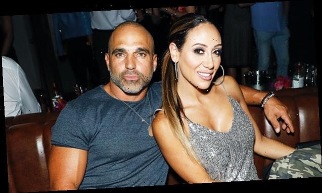Melissa Gorga, 41, Stuns In Hot Pink Dress During Anniversary Dinner With Hunky Husband Joe