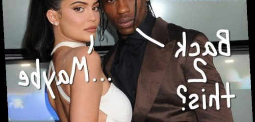 Travis Scott 'Is Still Hopeful There's A Chance' He Can Get Back Together With Ex Kylie Jenn