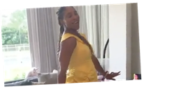 This Video of Serena Williams and Her Daughter Dressed as Belle Is So Delightful