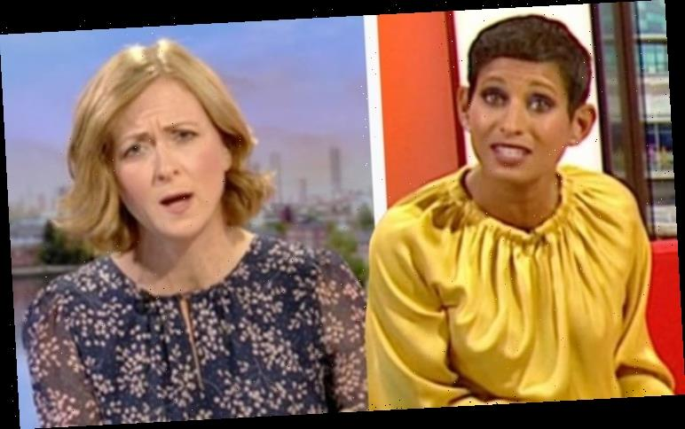 Naga Munchetty replaced on BBC Breakfast in last-minute show shake-up