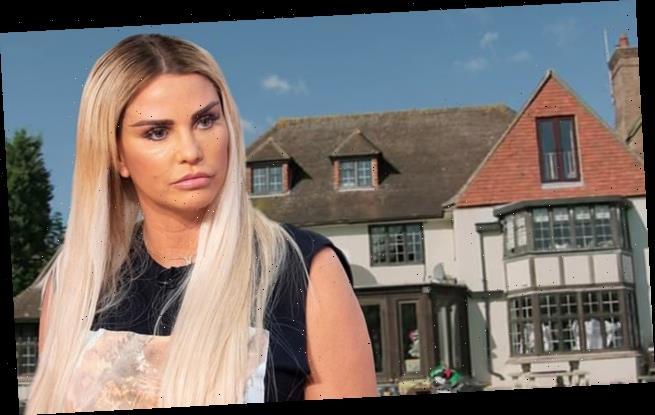 Katie Price 'devastated' as her £1.3m 'mucky mansion' is 'destroyed'