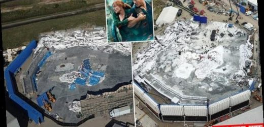 Jurassic World: Dominion set revealed by aerial snaps