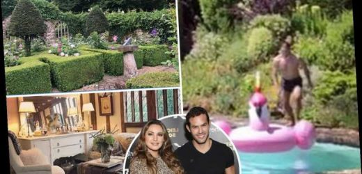 Inside Kelly Brook's £1m 15th Century Kent cottage – and her perfect garden