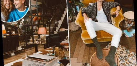 Made In Chelsea star Oliver Proudlock's incredible West London home is so posh it looks like a luxury hotel
