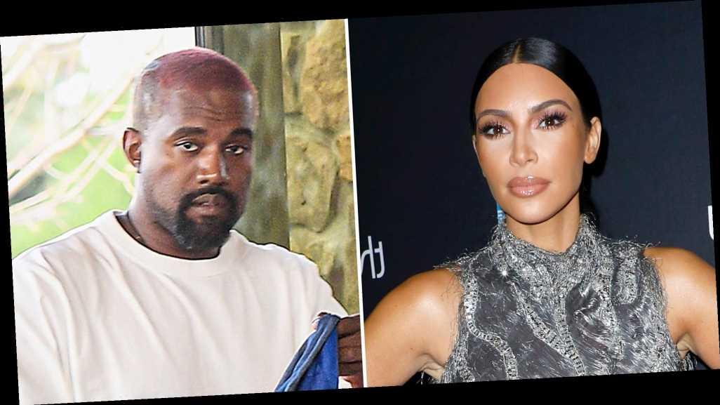 Kim Kardashian, Kanye West Spent Weeks Apart Before Twitter Drama