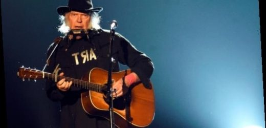 Neil Young Is ' NOT Okay With' Trump's Use of His Songs at Mt Rushmore Event