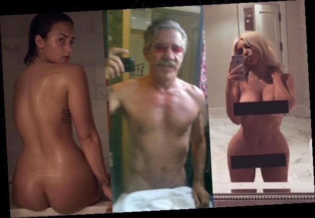 14 Stars Nude Selfies, From Crissy Teigen to Emily Ratajkowski (Photos)