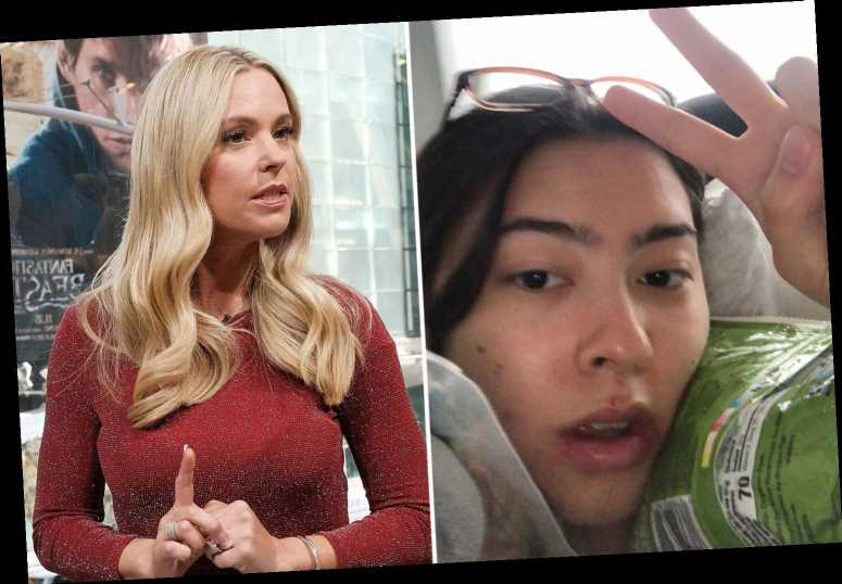 Jon and Kate Gosselin's daughter Mady, 19, looks swollen from dental surgery after confessing she 'cries every day' – The Sun