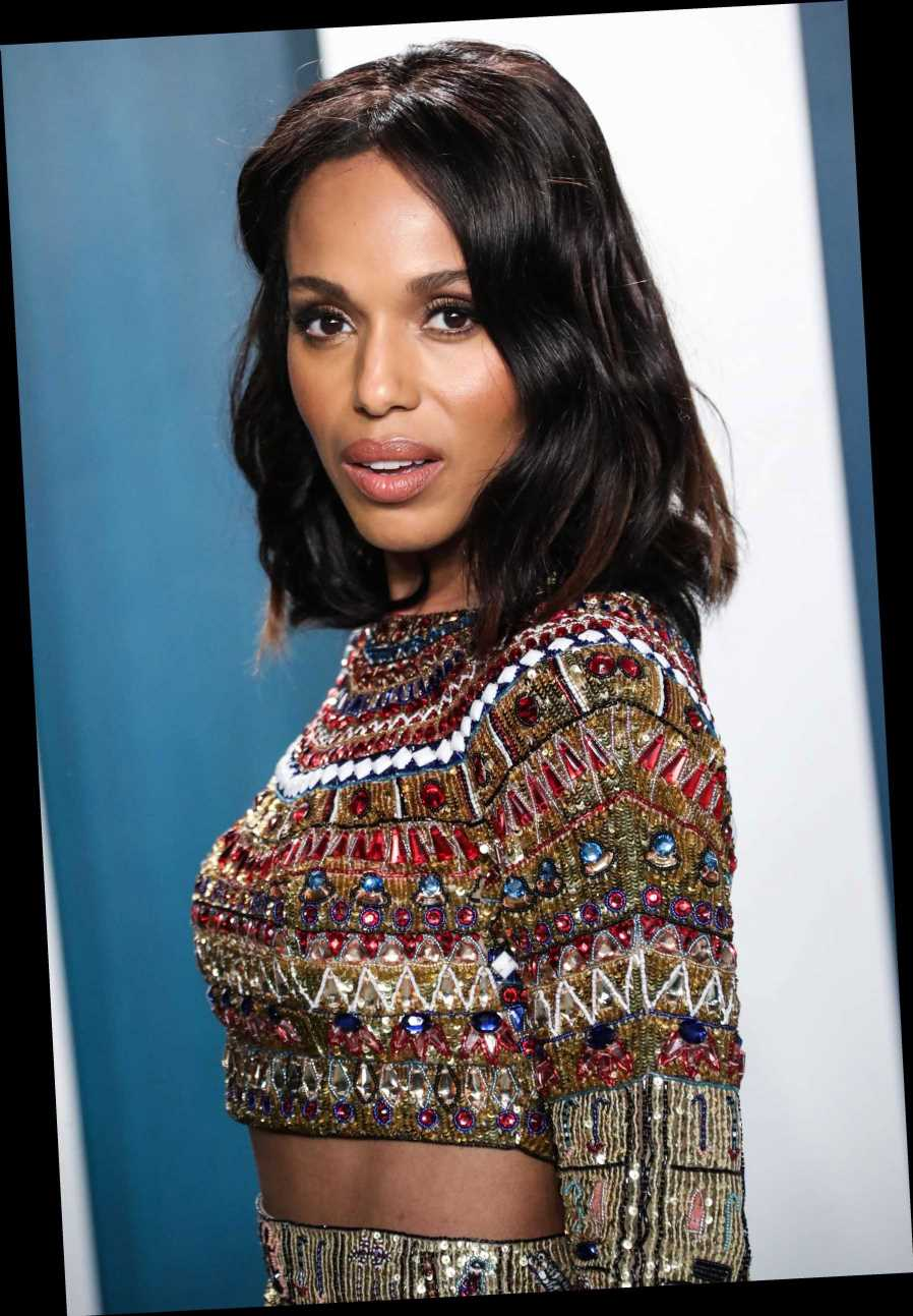 Kerry Washington says her roles 'are a political act no matter what'