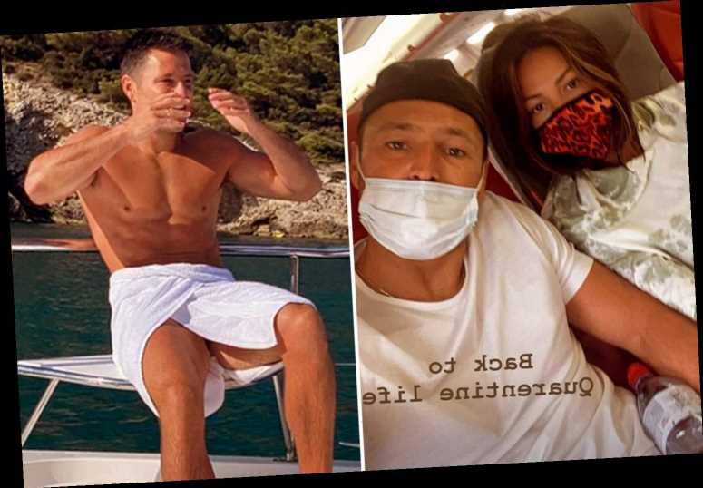 Mark Wright says he's 'back to quarantine life' as he isolates for two weeks with Michelle Keegan after Marbella holiday