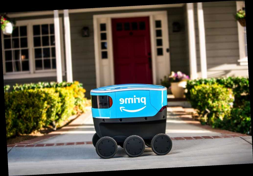 Amazon is rolling out more bots for contactless delivery