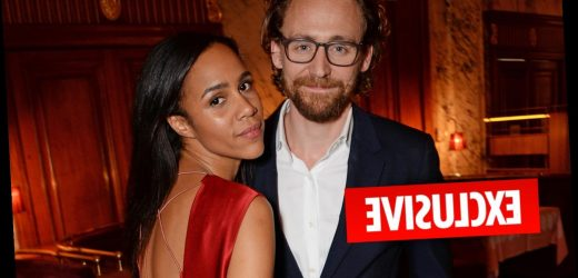 Tom Hiddleston living with co-star Zawe Ashton in Atlanta after his friends deny they're dating