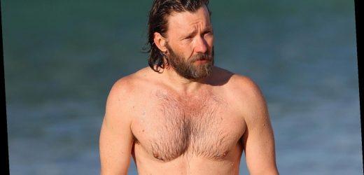 Joel Edgerton Goes Shirtless at the Beach in Sydney!