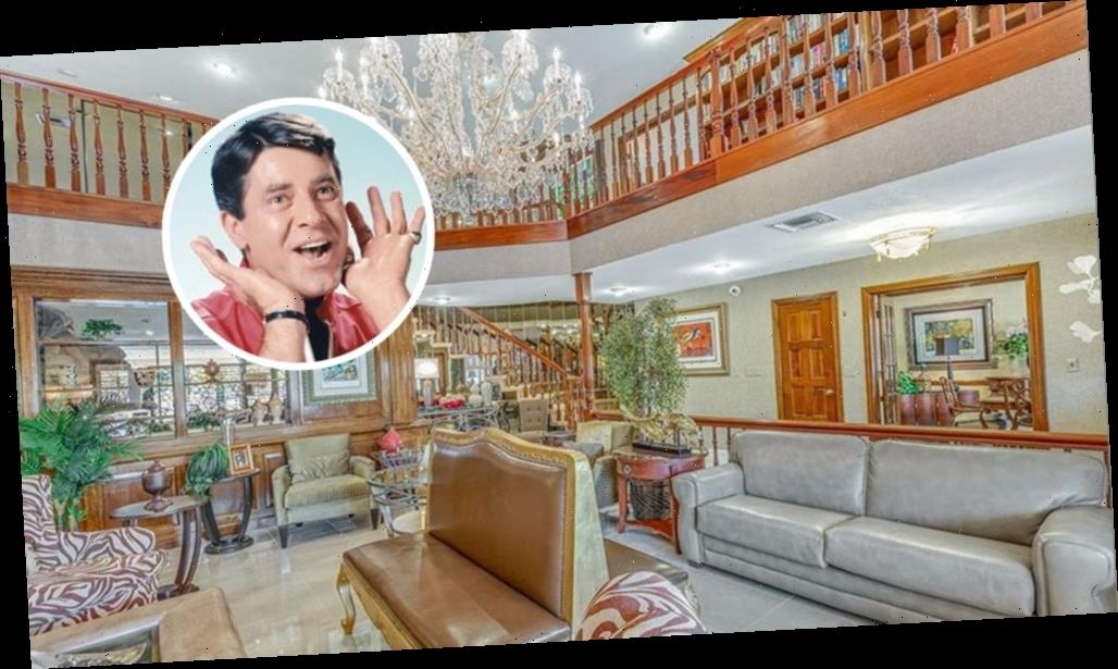 Former Las Vegas Home of Jerry Lewis Hits the Market